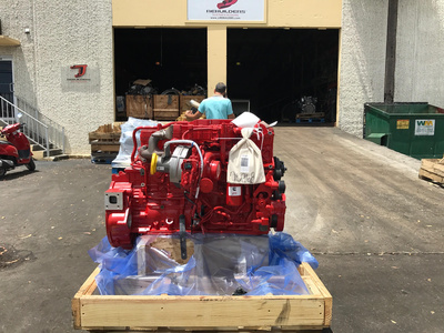 2016 CUMMINS ISB 6.7 Complete Engine #1627