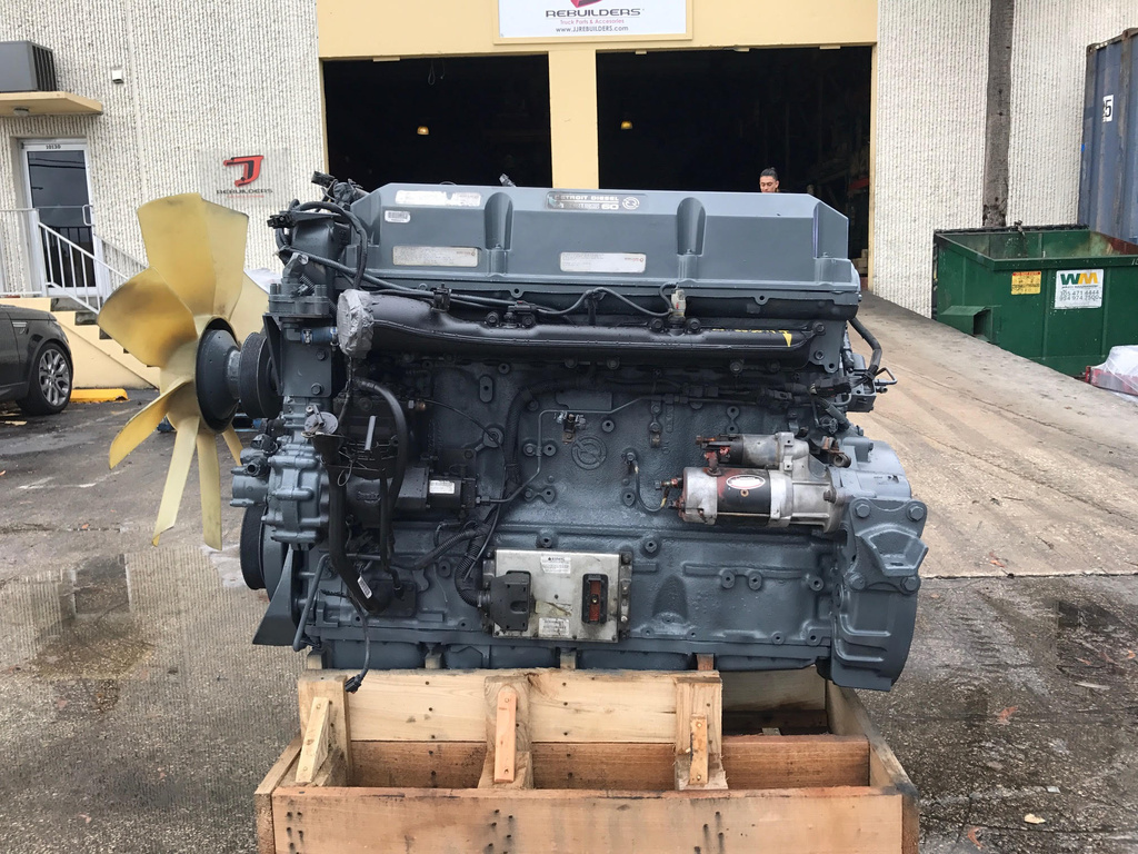 USED 2006 DETROIT SERIES 60 12.7 COMPLETE ENGINE TRUCK PARTS #1639