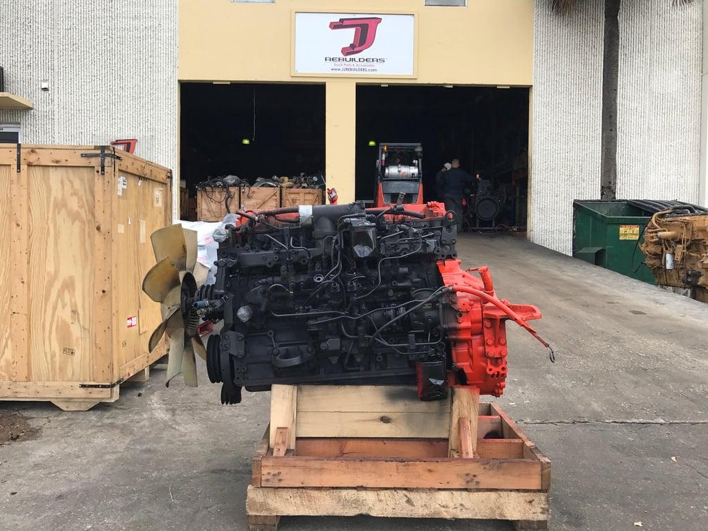 USED 1999 ISUZU 6HK1XN COMPLETE ENGINE TRUCK PARTS #1676