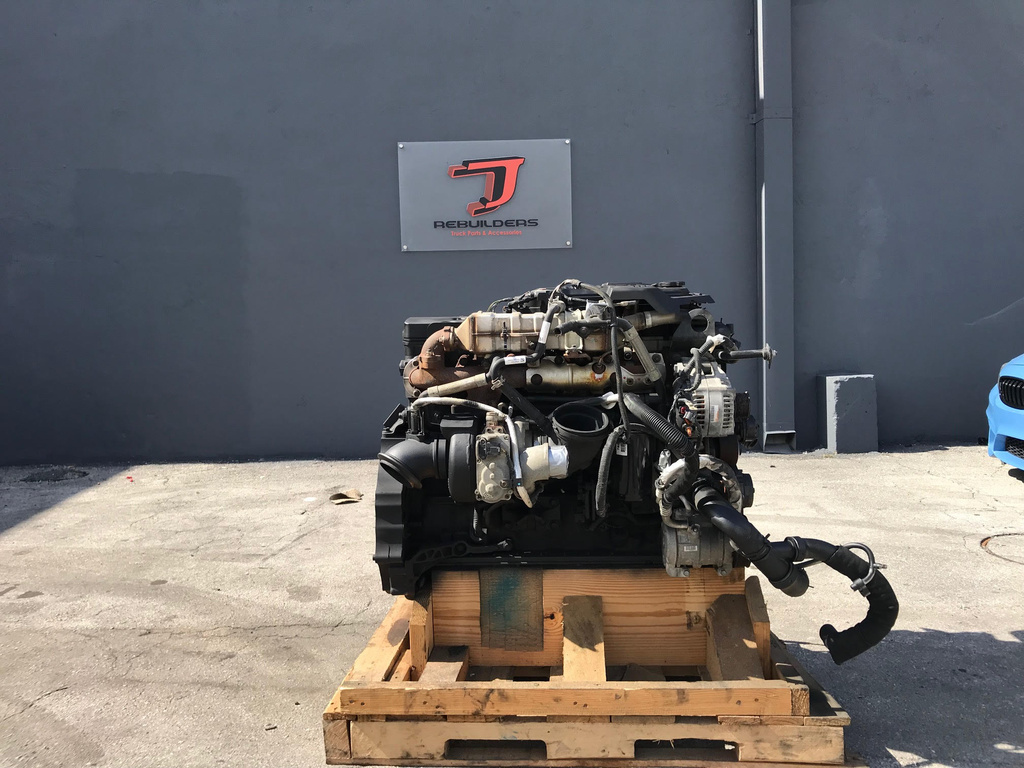 USED 2013 CUMMINS ISB 6.7 COMPLETE ENGINE TRUCK PARTS #1834