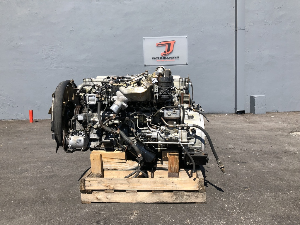 USED 2006 MITSUBISHI 6M60-3AT1 COMPLETE ENGINE TRUCK PARTS #1963