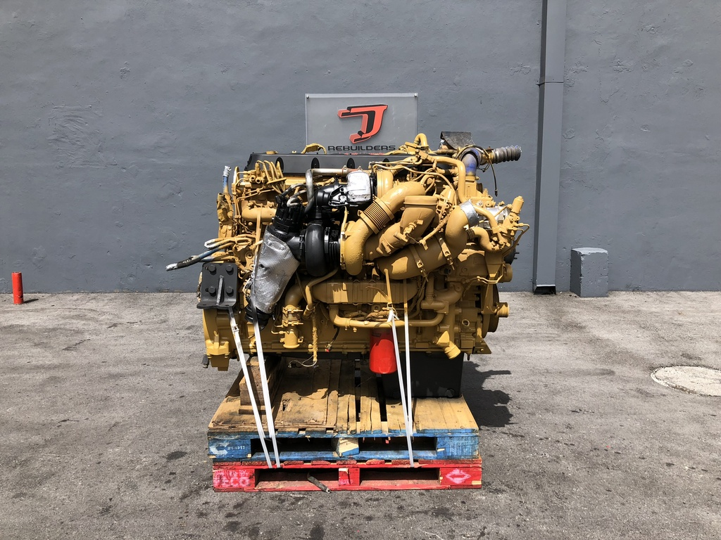 USED 2008 CAT C15 ACERT COMPLETE ENGINE TRUCK PARTS #2049