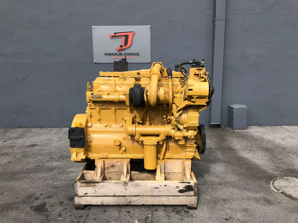 USED 1987 CAT 3406B COMPLETE ENGINE TRUCK PARTS #2096