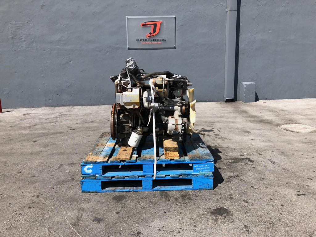 USED 2008 MITSUBISHI 4M50-6AT8 COMPLETE ENGINE TRUCK PARTS #2097