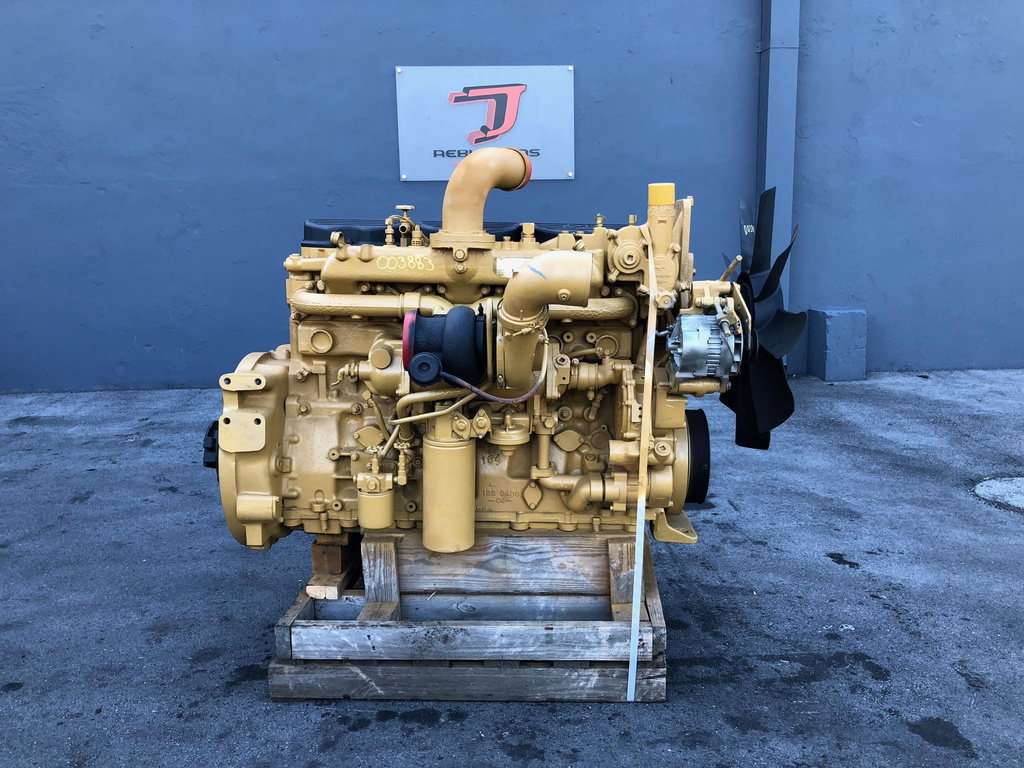 USED 1998 CAT C12 COMPLETE ENGINE TRUCK PARTS #2108