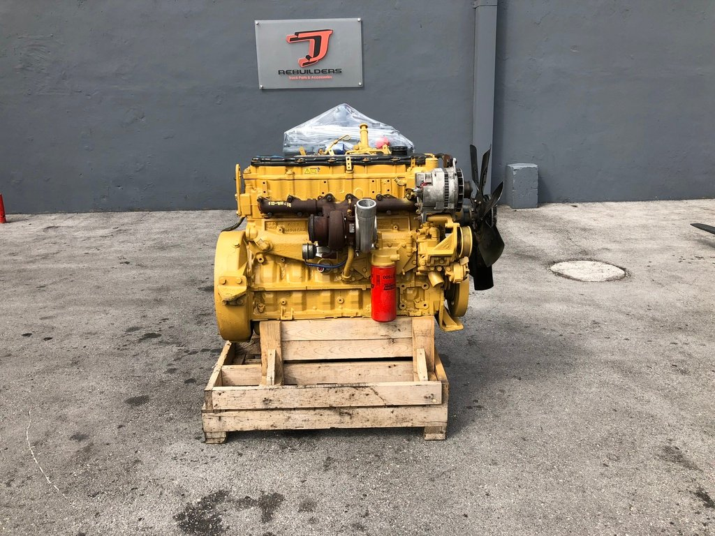 USED 2004 CAT C7 ACERT COMPLETE ENGINE TRUCK PARTS #2116