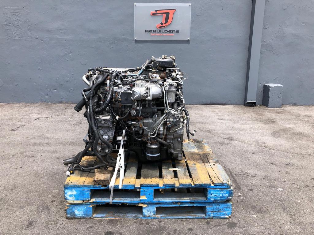 USED 2014 ISUZU 4HK1TC COMPLETE ENGINE TRUCK PARTS #2118