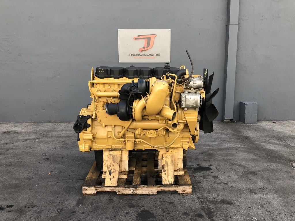 USED 2005 CAT C15 ACERT COMPLETE ENGINE TRUCK PARTS #2138