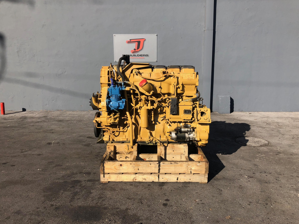 USED 2004 CAT C15 ACERT COMPLETE ENGINE TRUCK PARTS #2150