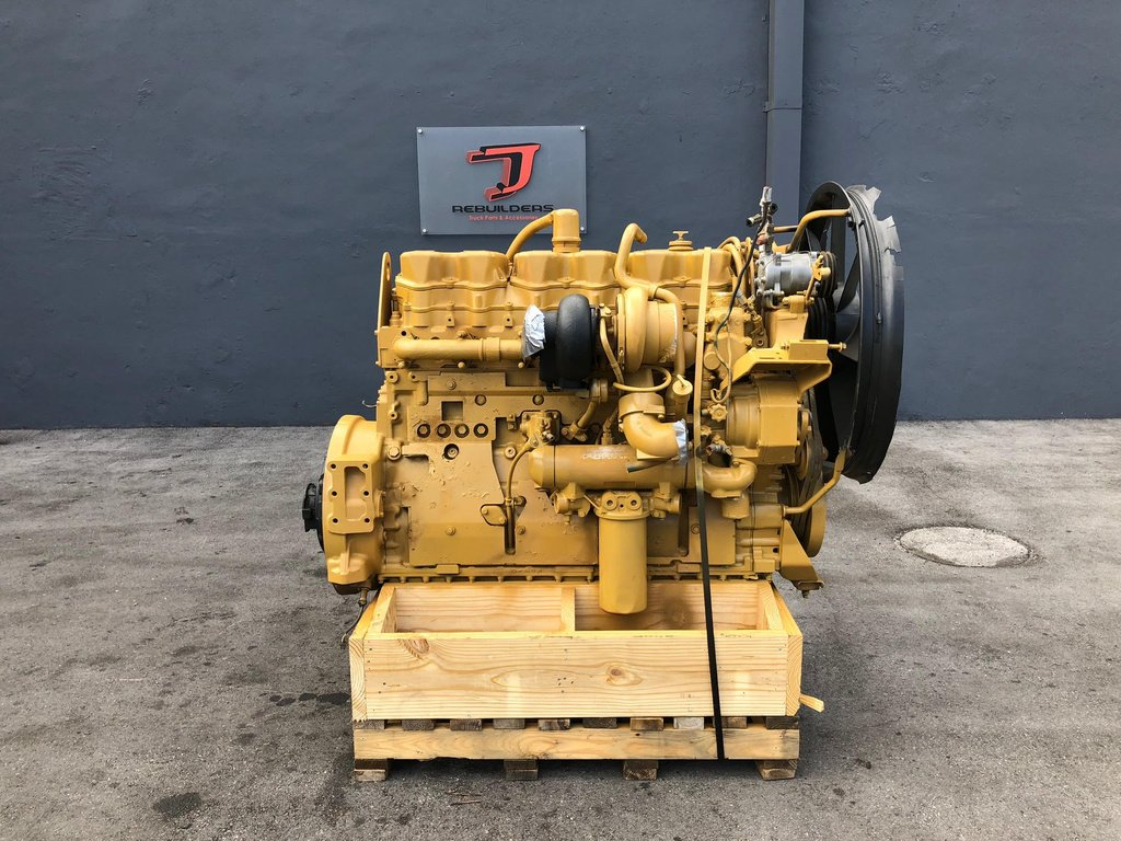 USED 1996 CAT 3406E COMPLETE ENGINE TRUCK PARTS #2157