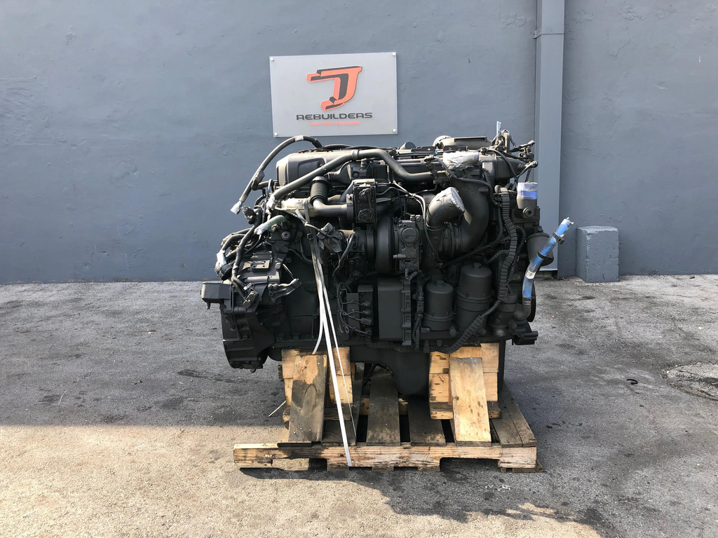 USED 2013 PACCAR MX13 COMPLETE ENGINE TRUCK PARTS #2165