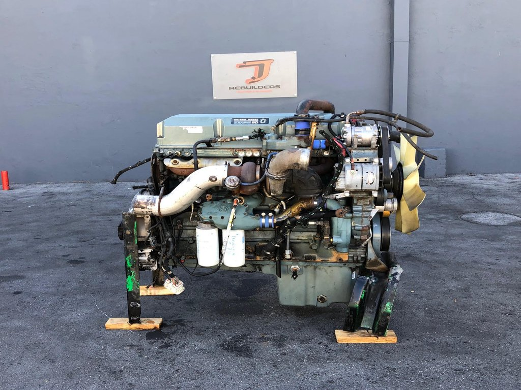 USED 2002 DETROIT SERIES 60 12.7 COMPLETE ENGINE TRUCK PARTS #2170