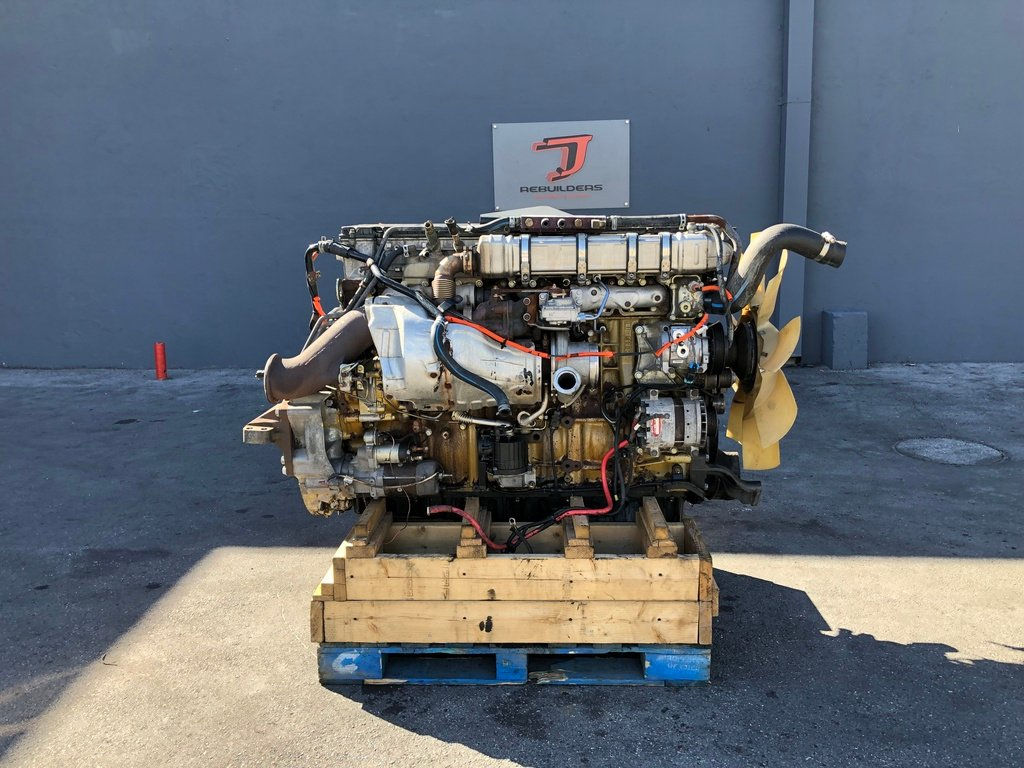 USED 2011 DETROIT DD15 COMPLETE ENGINE TRUCK PARTS #2172