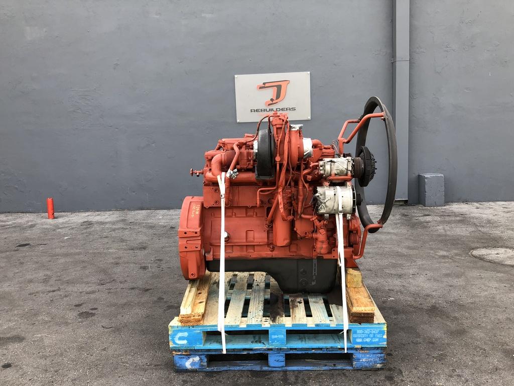 USED 2007 CUMMINS ISL COMPLETE ENGINE TRUCK PARTS #2173