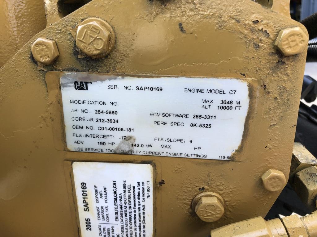 2005 CAT C7 ACERT TRUCK ENGINE FOR SALE #2176