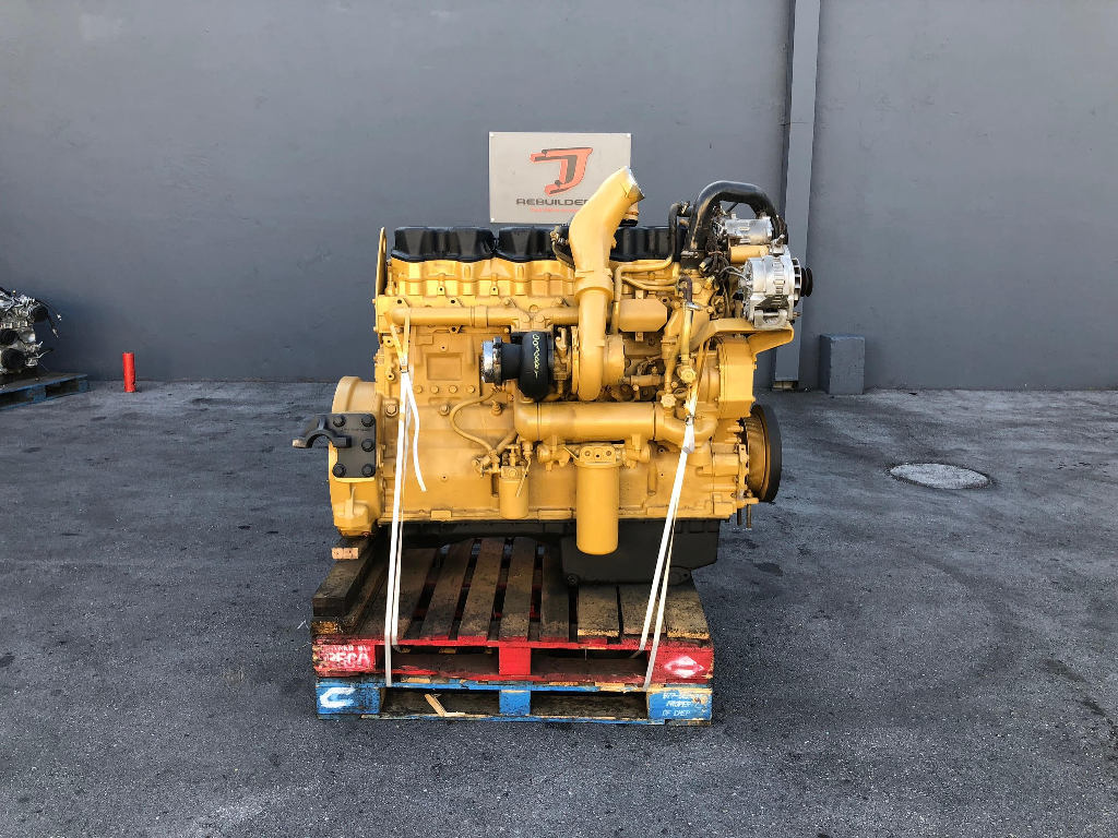 USED 1995 CAT 3406E COMPLETE ENGINE TRUCK PARTS #2186