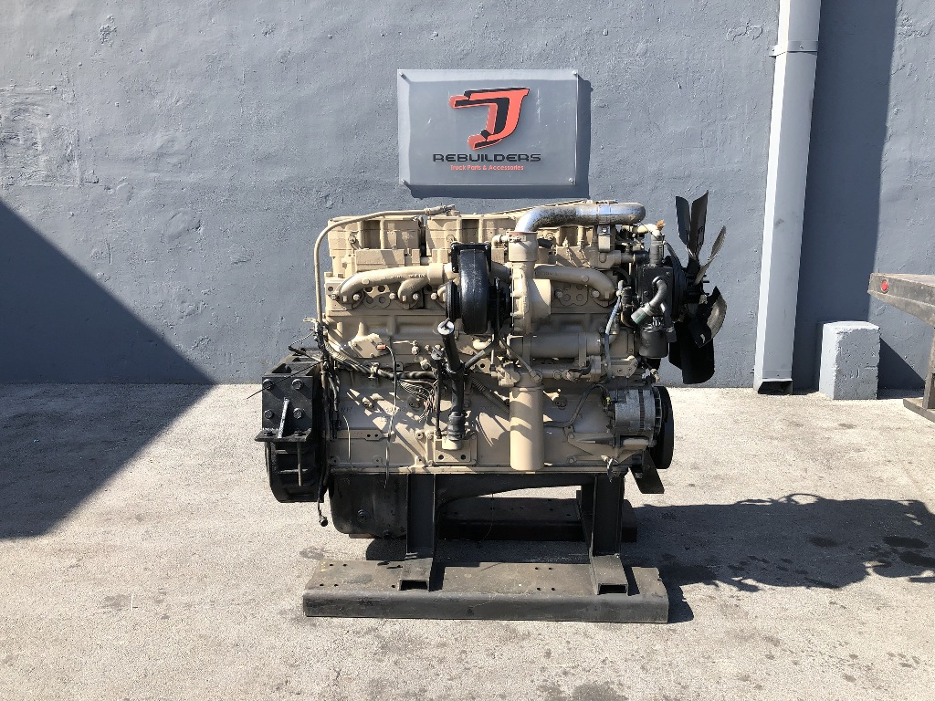 USED 1988 CUMMINS NTC-350 COMPLETE ENGINE TRUCK PARTS #2195