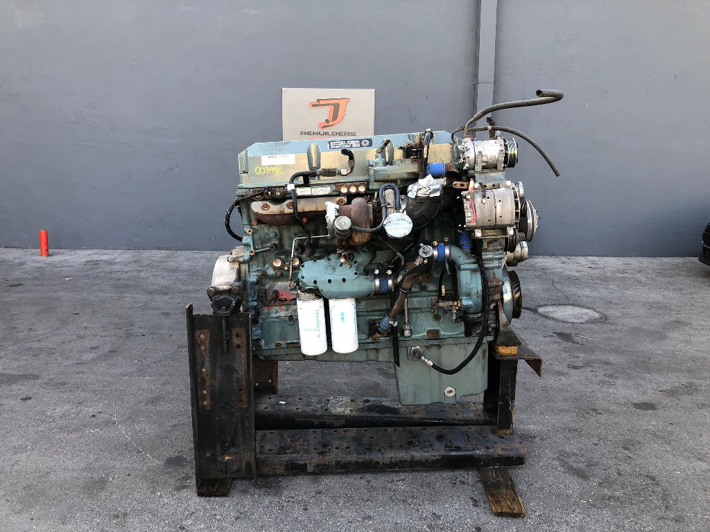 USED 2002 DETROIT SERIES 60 12.7 COMPLETE ENGINE TRUCK PARTS #2197
