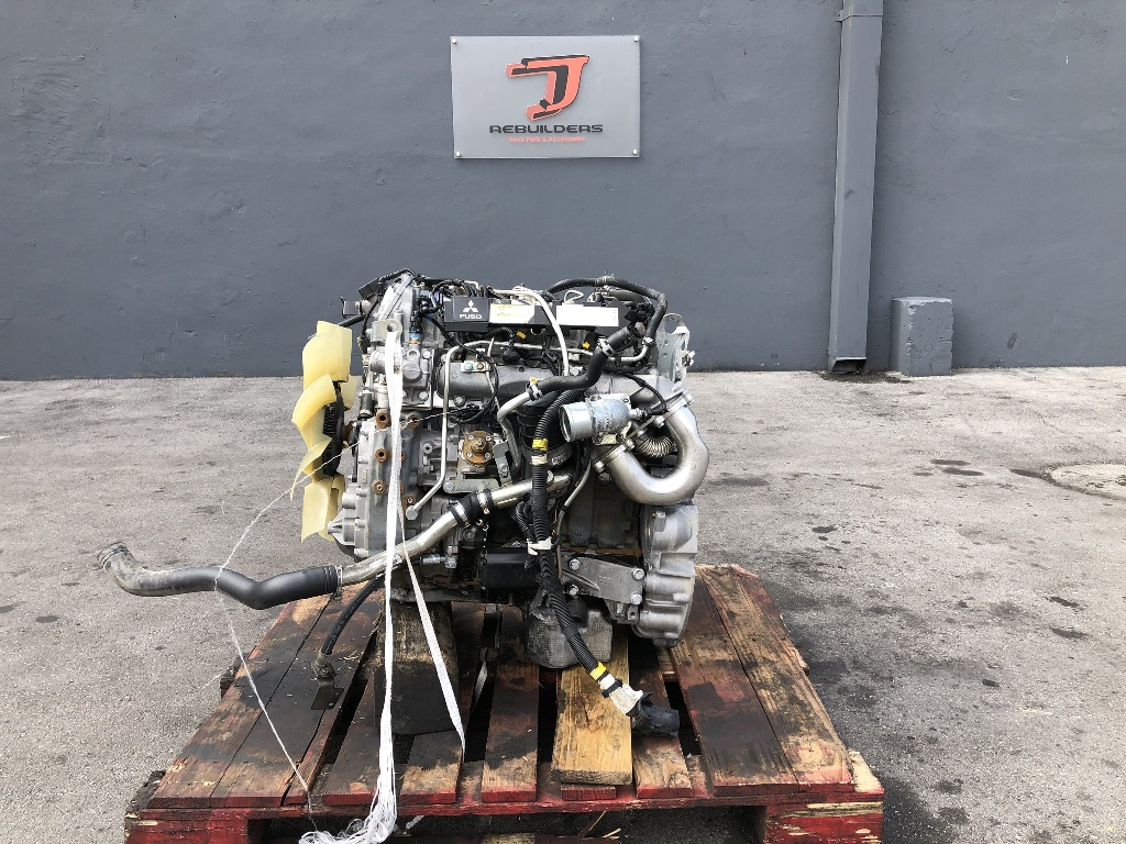 USED 2011 MITSUBISHI F1C FUSO COMPLETE ENGINE TRUCK PARTS #2201