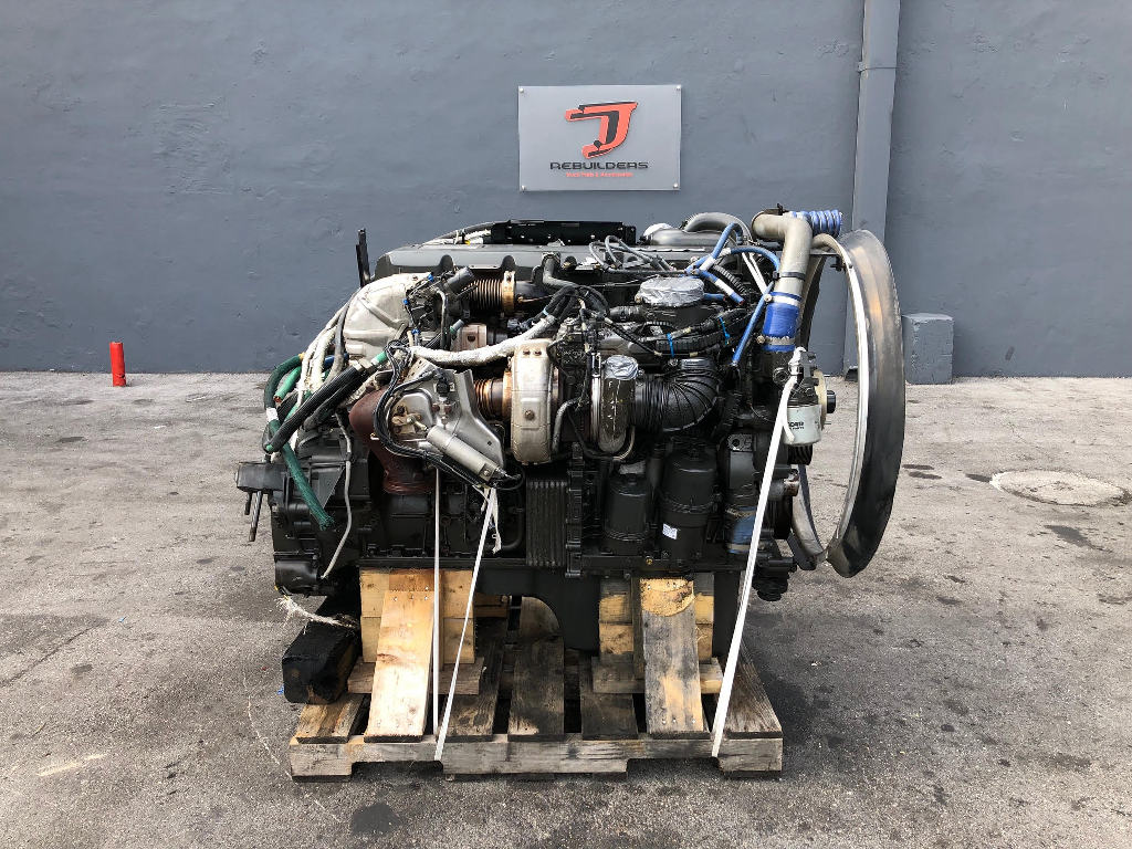 USED 2011 PACCAR MX13 COMPLETE ENGINE TRUCK PARTS #2208