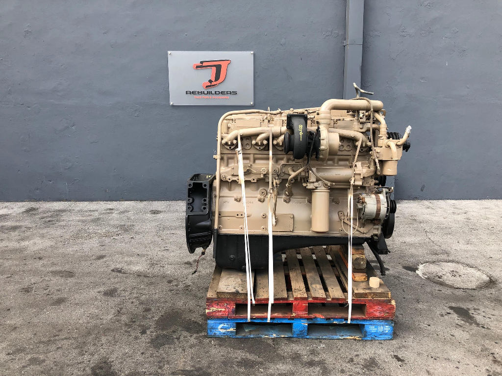 USED 1987 CUMMINS NTC-315 COMPLETE ENGINE TRUCK PARTS #2242
