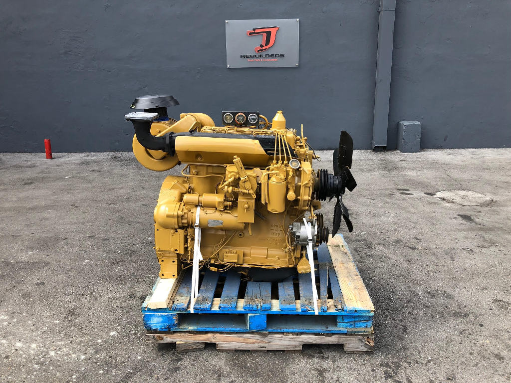 USED CAT 3304 PC COMPLETE ENGINE TRUCK PARTS #2246