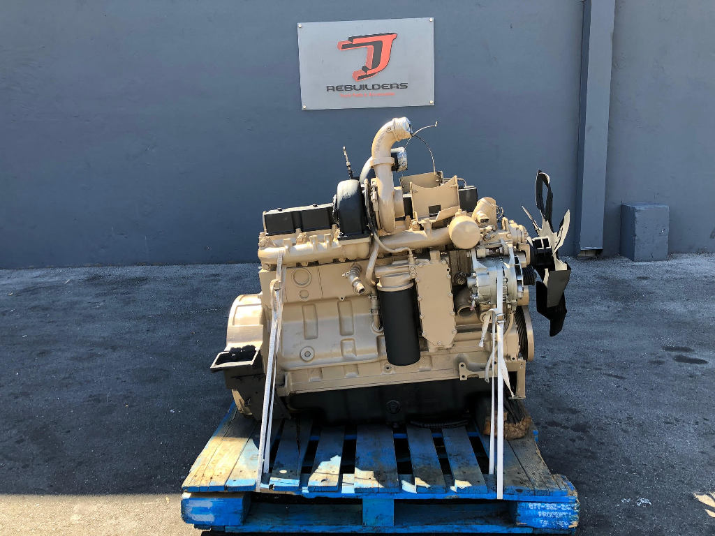 USED 1993 CUMMINS 8.3 6CT COMPLETE ENGINE TRUCK PARTS #2247