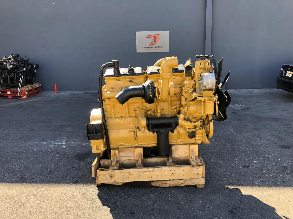 USED 1987 CAT 3406B COMPLETE ENGINE TRUCK PARTS #2250