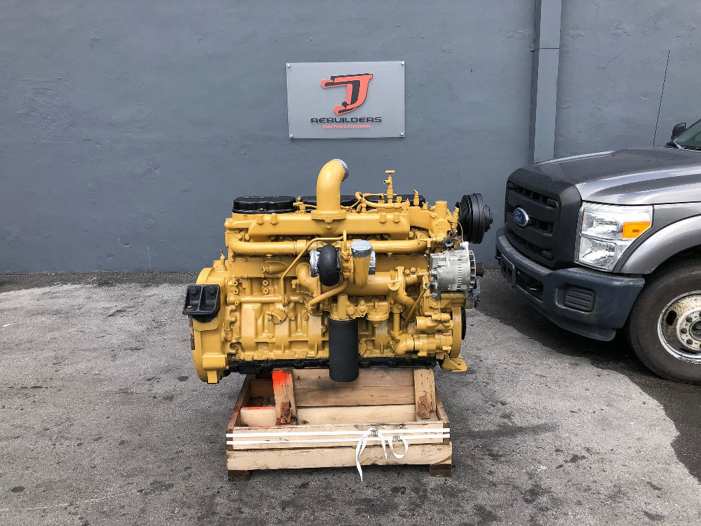 USED 1995 CAT 3176 COMPLETE ENGINE TRUCK PARTS #2295