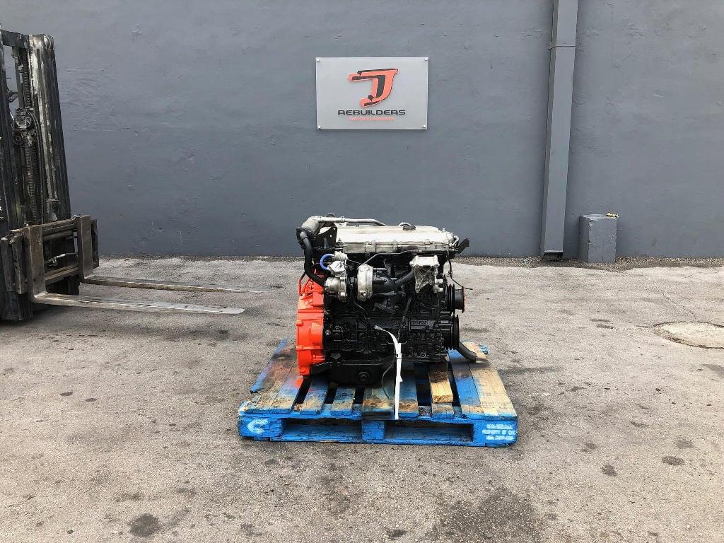 USED 2006 ISUZU 4HK1TC COMPLETE ENGINE TRUCK PARTS #2299