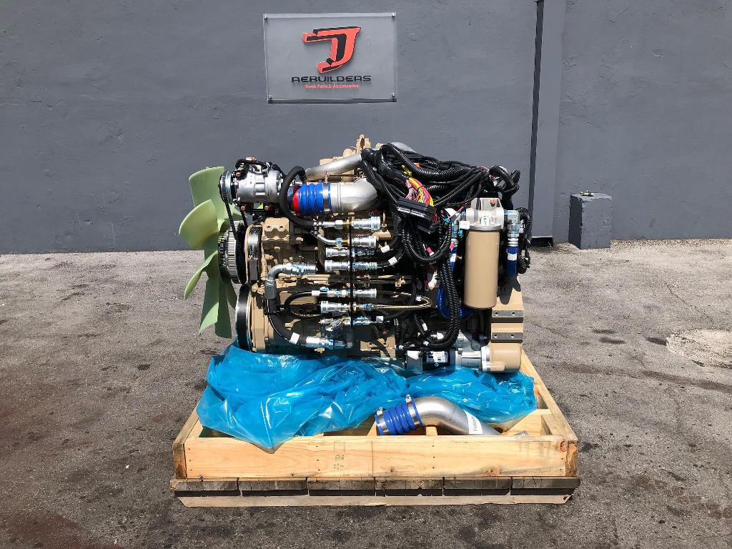 NEW 2010 CUMMINS ISL COMPLETE ENGINE TRUCK PARTS #2307