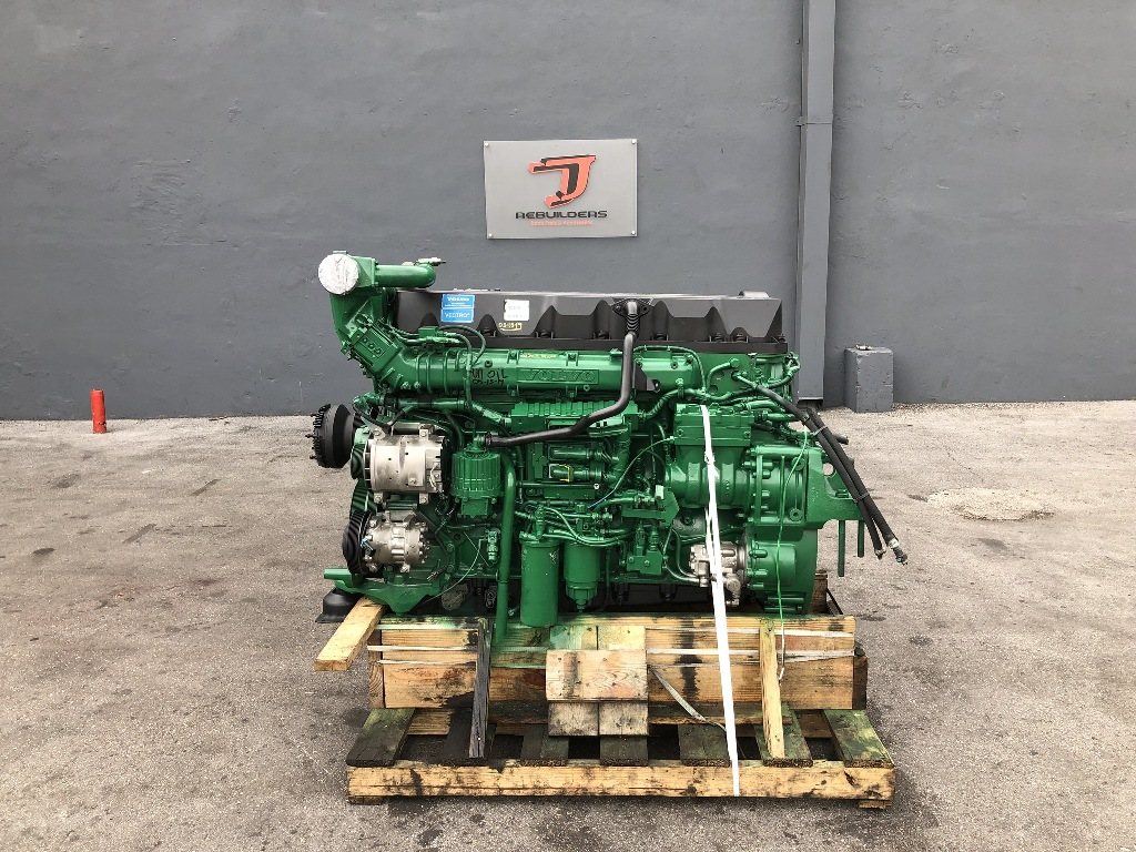 USED 2011 VOLVO D13 TRUCK ENGINE TRUCK PARTS #2313