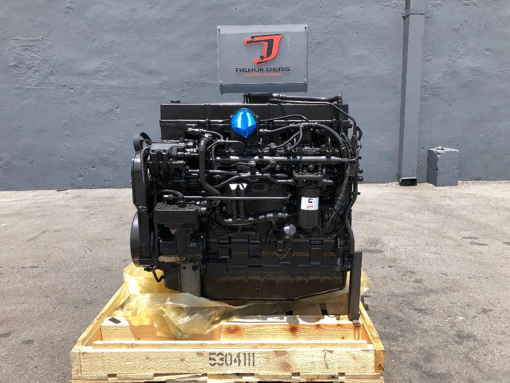 NEW 2018 CUMMINS ISL COMPLETE ENGINE TRUCK PARTS #2329