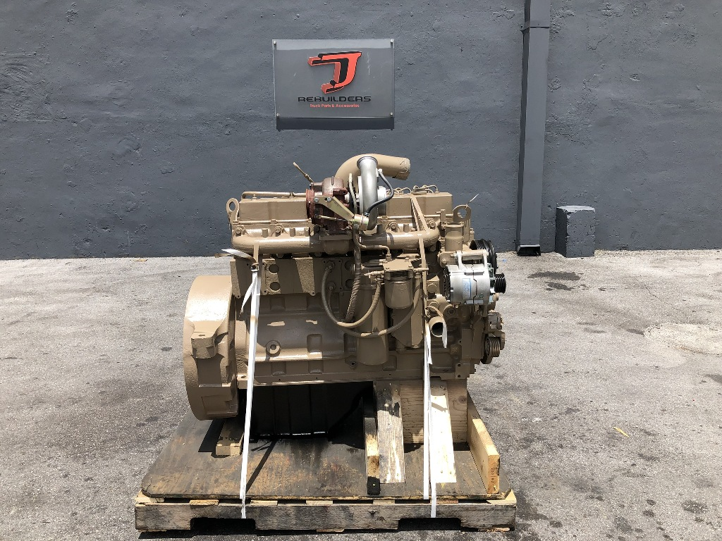 USED 2011 CUMMINS 8.3 6CT COMPLETE ENGINE TRUCK PARTS #2350