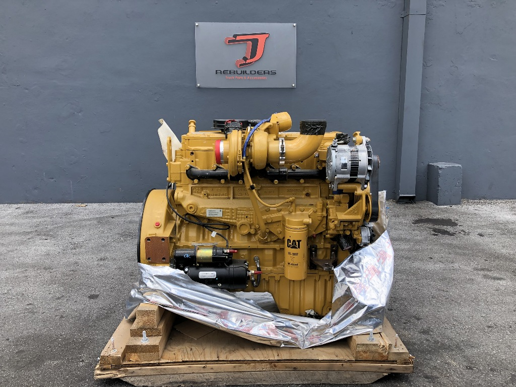 NEW 2007 CAT 3126 COMPLETE ENGINE TRUCK PARTS #2351