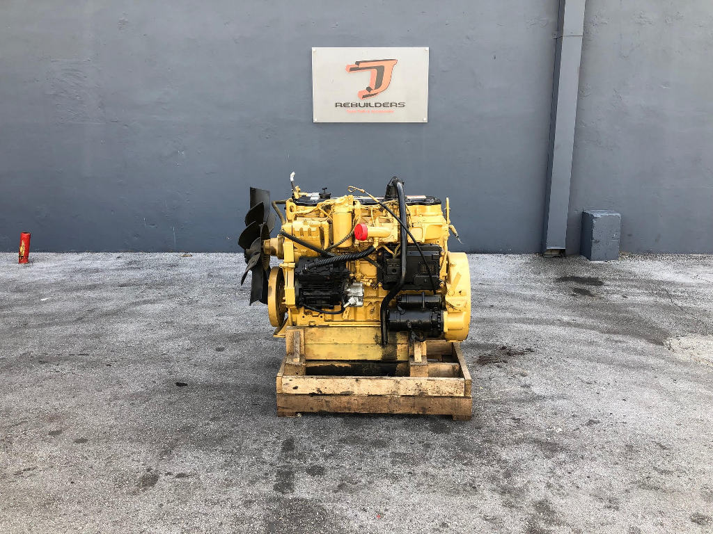 USED 2003 CAT 3126 COMPLETE ENGINE TRUCK PARTS #2388