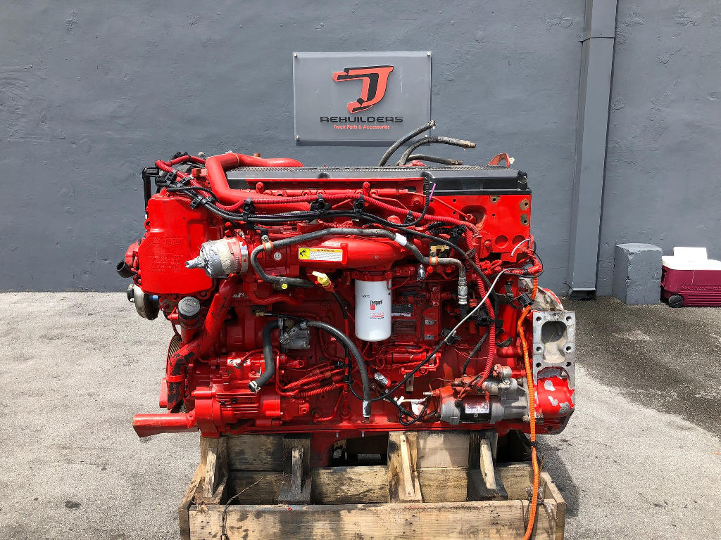 USED 2015 CUMMINS ISX15 COMPLETE ENGINE TRUCK PARTS #2419