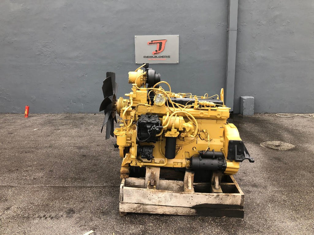 USED 1997 CAT 3306DI COMPLETE ENGINE TRUCK PARTS #2423