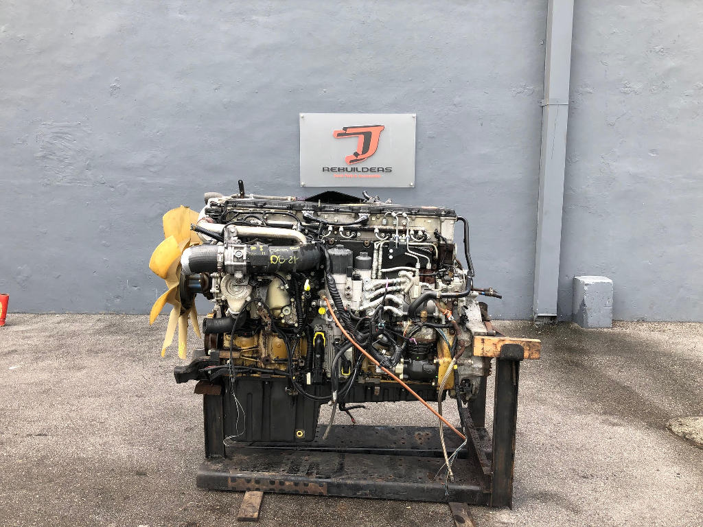 USED 2012 DETROIT DD15 COMPLETE ENGINE TRUCK PARTS #2424