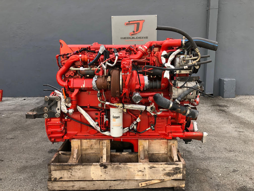 USED 2015 CUMMINS ISX15 COMPLETE ENGINE TRUCK PARTS #2436
