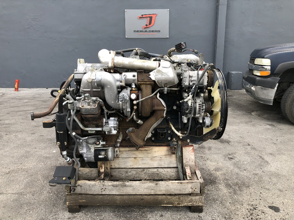 USED 2007 ISUZU 6HK1X COMPLETE ENGINE TRUCK PARTS #2441