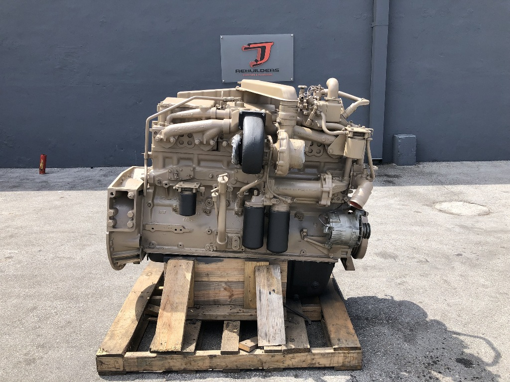 USED 1989 CUMMINS BIG CAM NTC 350 COMPLETE ENGINE TRUCK PARTS #2452