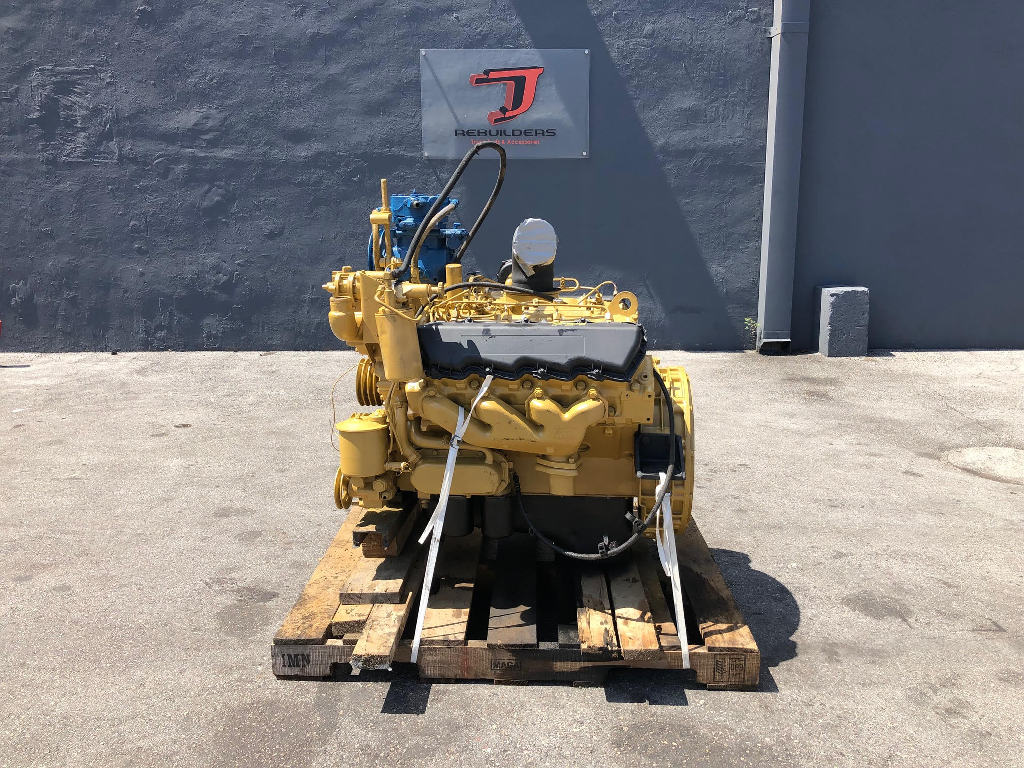 USED 1988 CATERPILLAR 3208 COMPLETE ENGINE TRUCK PARTS #2453