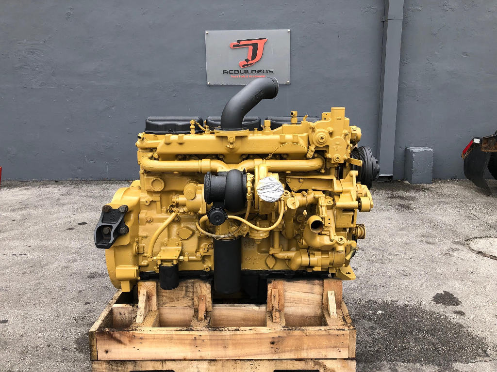 USED 2001 CAT C12 COMPLETE ENGINE TRUCK PARTS #2456