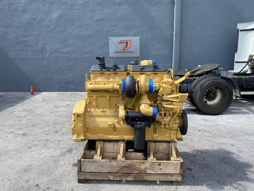 USED 1992 CAT 3406B COMPLETE ENGINE TRUCK PARTS #2479