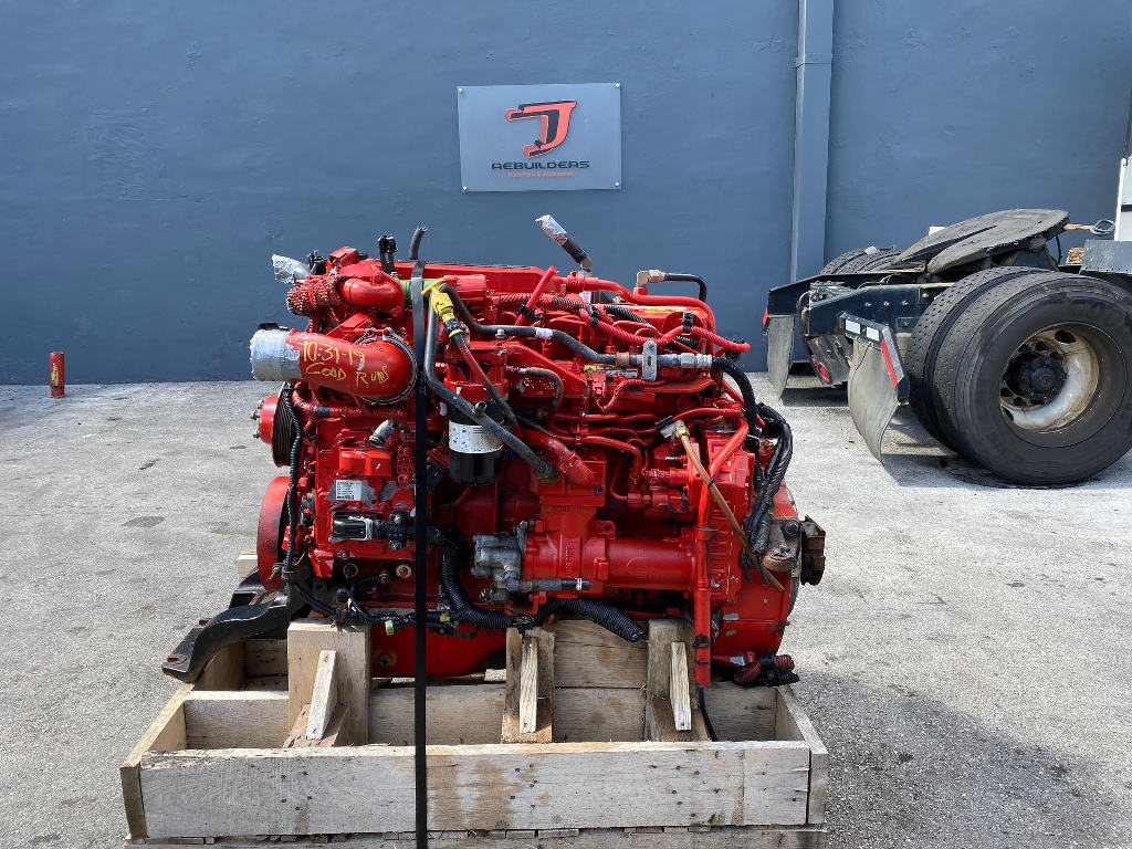 USED 2014 CUMMINS ISB 6.7 COMPLETE ENGINE TRUCK PARTS #2482