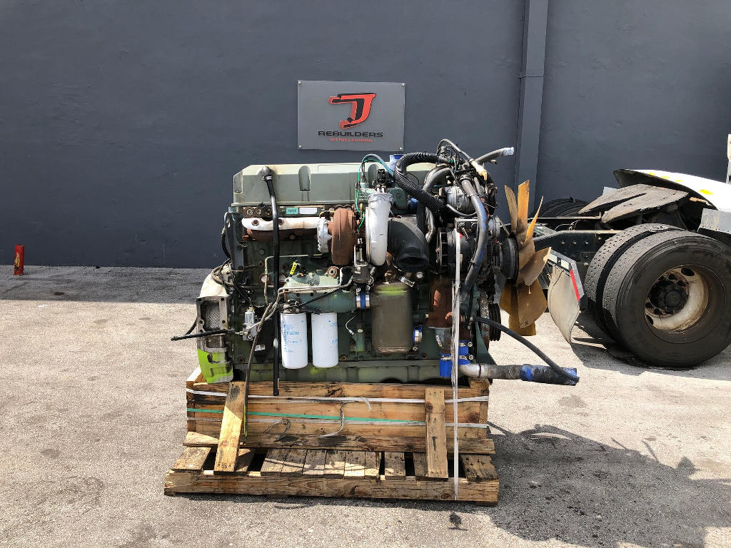 USED 2006 DETROIT SERIES 60 14.0L COMPLETE ENGINE TRUCK PARTS #2484