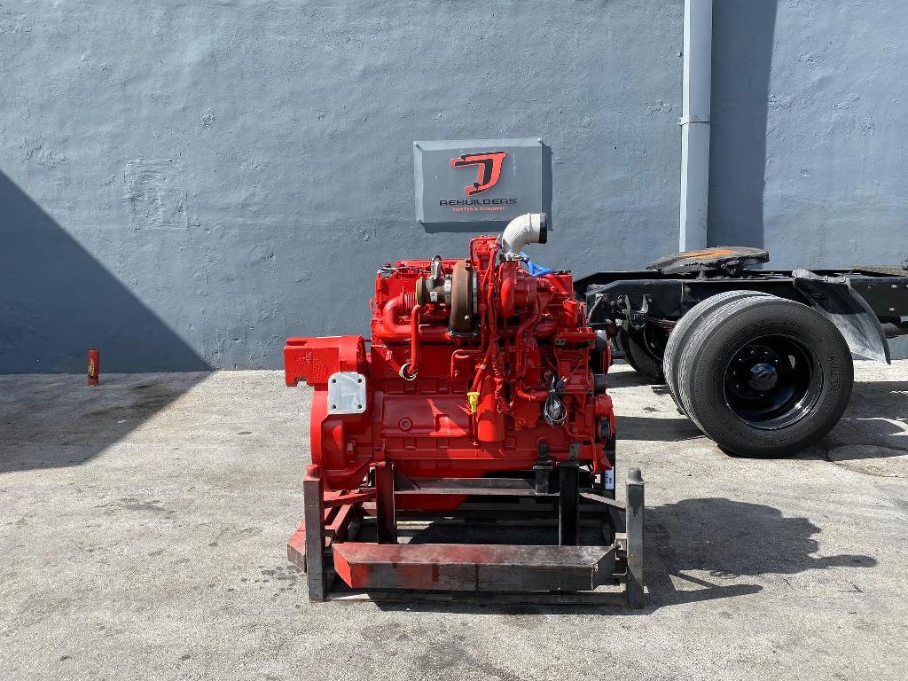 NEW 2012 CUMMINS ISC COMPLETE ENGINE TRUCK PARTS #2491