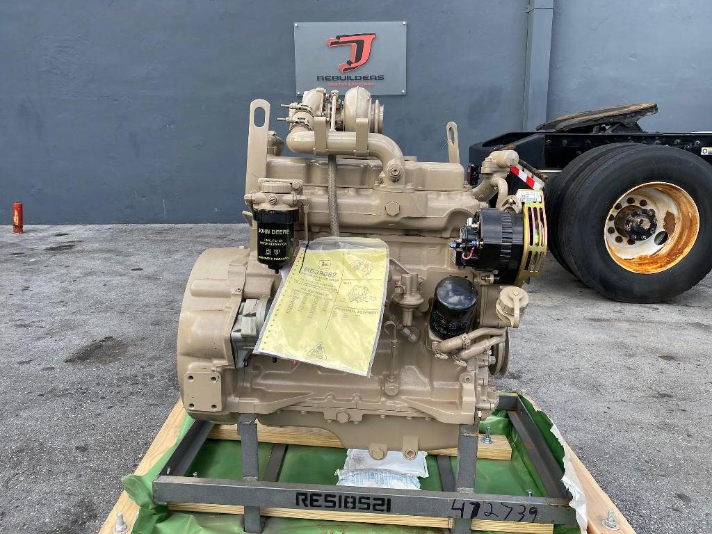 REBUILT 2009 JOHN DEERE 4039T TRUCK ENGINE TRUCK PARTS #2534