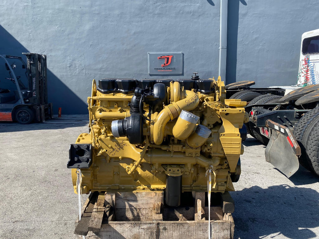 USED 2006 CATERPILLAR C15 ACERT COMPLETE ENGINE TRUCK PARTS #2541